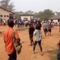 Gateway Polytechinc Students Protest Over School Fees Payment Deadline (See Photos)